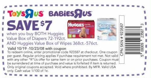 Babies r us 7 off coupon