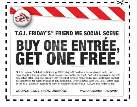picture relating to Tgi Fridays Printable Coupons called Tgi fridays discount coupons 2018 november / Discount codes 30 off