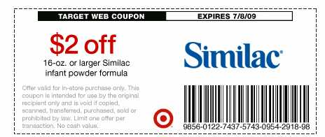 graphic relating to $5 Similac Printable Coupon referred to as Similac alimentum coupon codes aim - Discount coupons daddy reputable