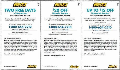 Aaa hertz car rental discount coupons