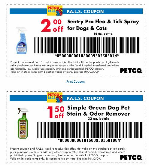Petco coupon codes