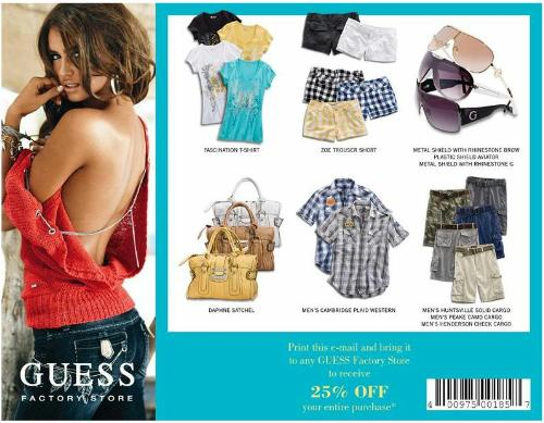 Guess coupon codes